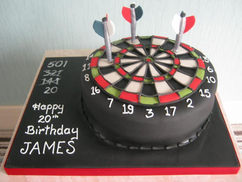 Dartboard Cake Design Sweet Moments Of Life