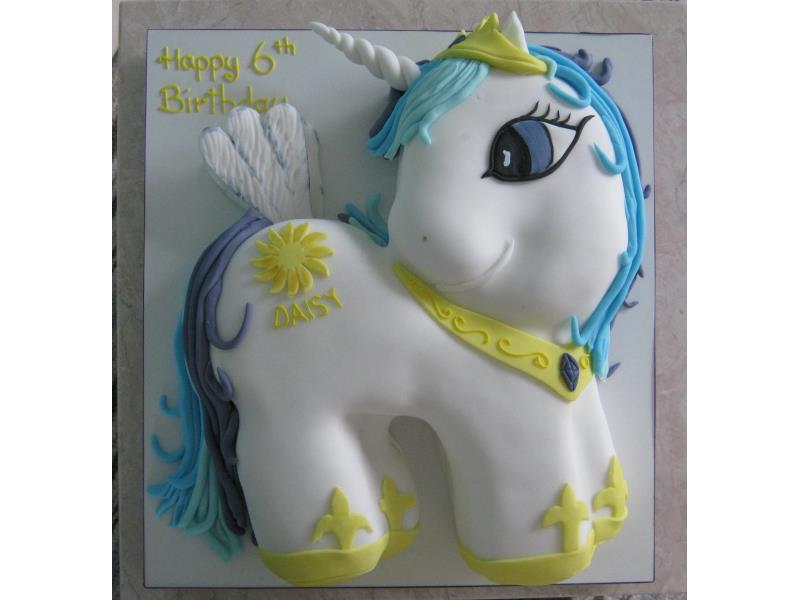 My Little Pony Princess Celeste in chocolate sponge for Daisy in Thornton-Cleveleys