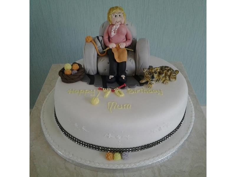 Knitting Cakes Images : Creative cakes of blackpool adult birthday th