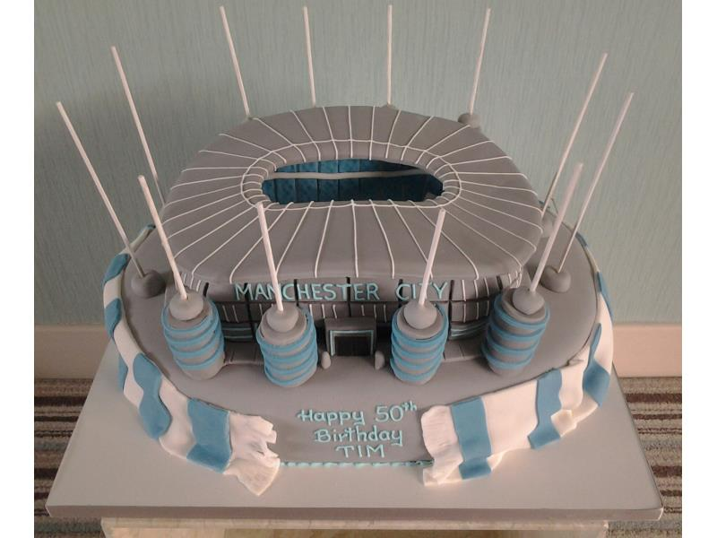 Manchester City's Etihad stadium A for Tim in Lytham celebrating his birthday. Made from Madeira