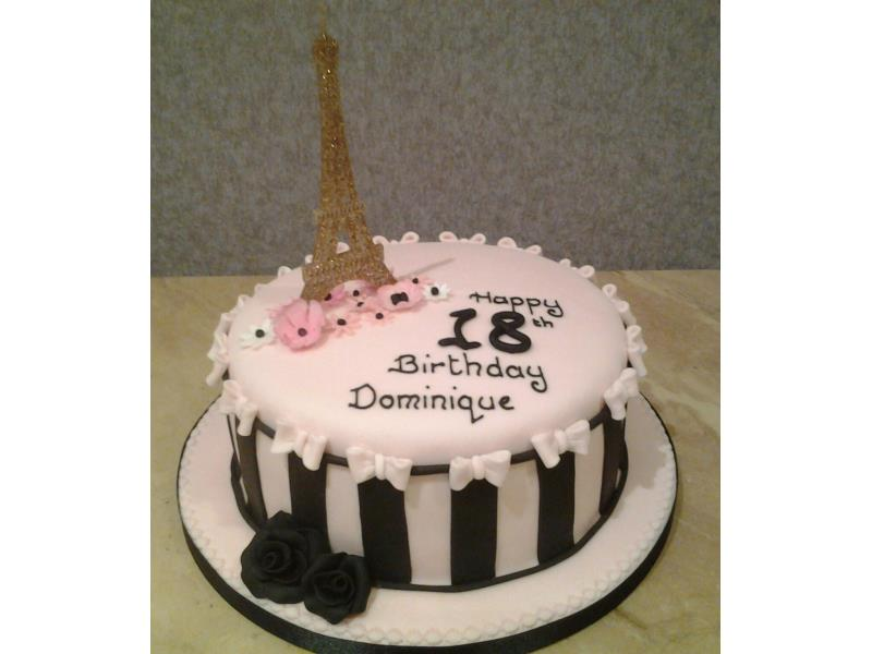 Creative Cakes of Blackpool - Coming of Age Cakes / 18th