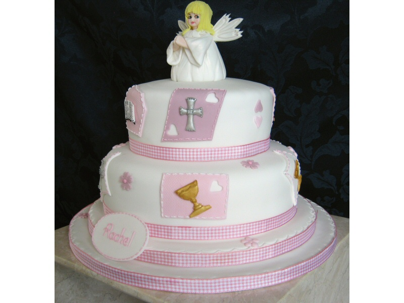 Holy Communion - Communion cake for Rachel from Blackburn