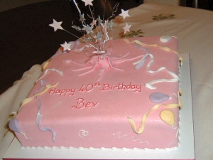 Photo - Example of a novelty birthday cake by Creative Cakes of Blackpool